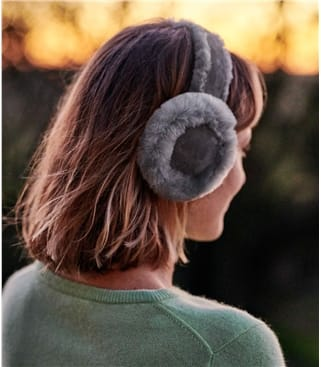 Childrens Sheepskin Earmuffs
