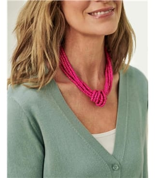 Beaded Knot Necklace