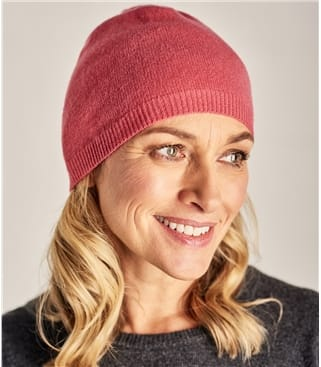 Womens Pure Cashmere Hat