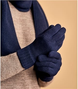 Mens Lambswool Gloves