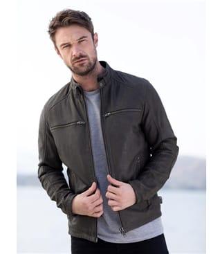 Hamish Leather Jacket