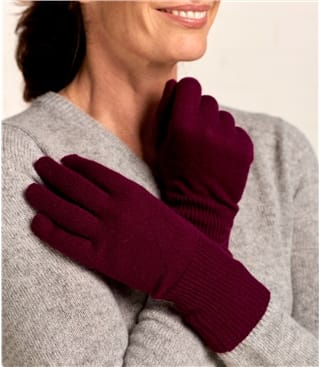 Cashmere & Merino Gloves