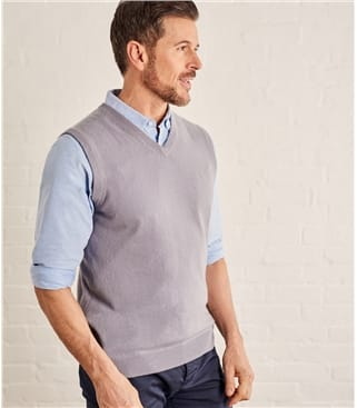 Cashmere and Merino Vest