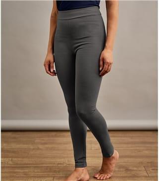 Jersey Leggings aus Viskose mit geringem Elastananteil für Damen