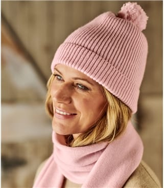 Womens Essential Lambswool Hat