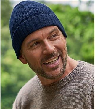 Mens Essential Lambswool Hat