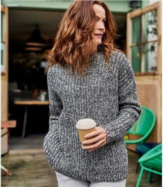Женский свитер из шерсти ягненка
