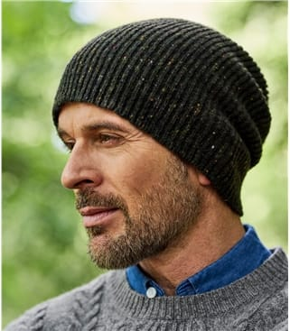 Mens Donegal Tweed Look Hat