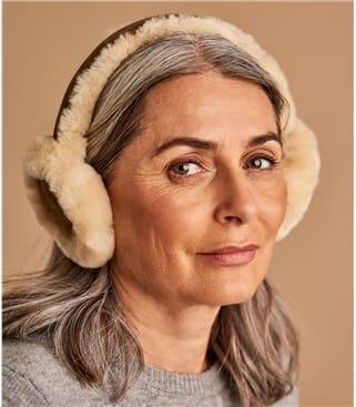 Womens Sheepskin Earmuffs