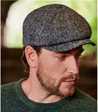 Mens Baker Boy Hat