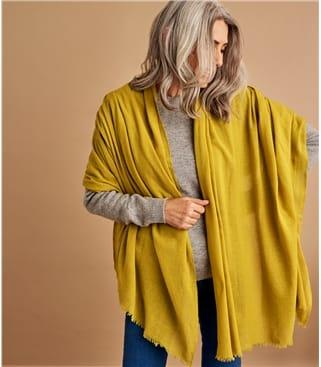 Schal aus reiner Wolle für Damen