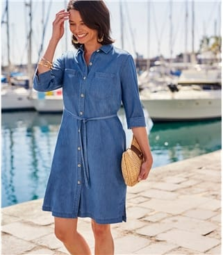 Womens Shirt Dress