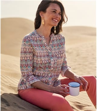 Womens Marrakech Print Shirt