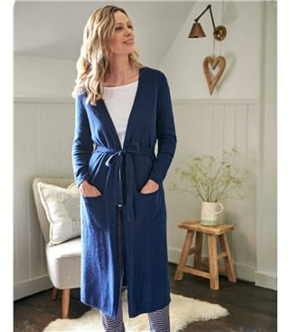 Cashmere & Merino Luxe Dressing Gown