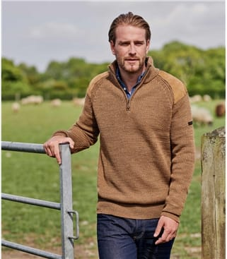 100% Pure Wool Hill Walker Jumper