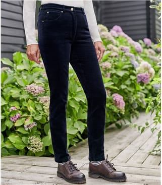 Womens Cord Jeans
