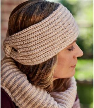 Womens Ribbed Headband