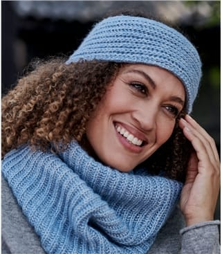 Womens Ribbed Headband