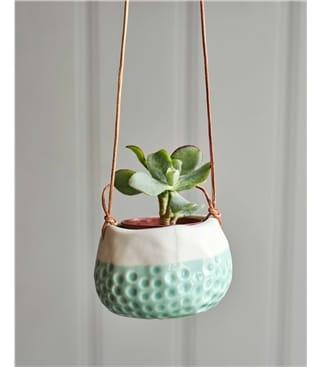 Burgon & Ball Baby Dotty Hanging Plant Pot