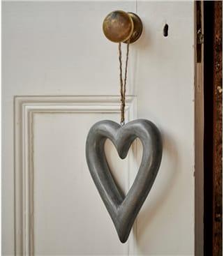 Украшение деревянное сердце