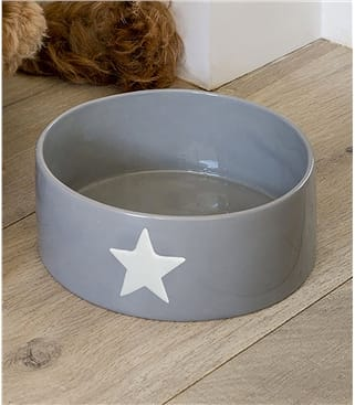 Dog Bowl With Star