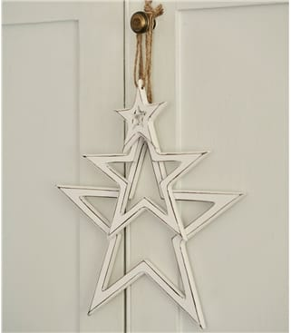 3 Hanging Cut Out Stars