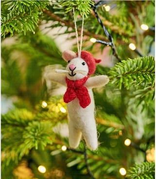 Monsieur Mouse Christmas Decoration