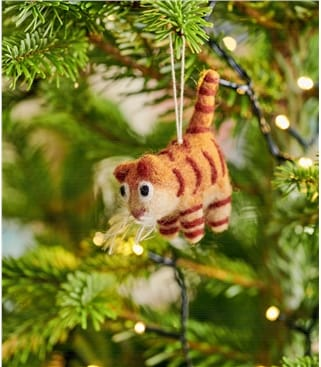 Déco chat tigré - Maison - Pure Laine