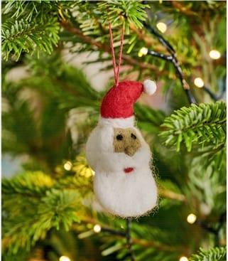 Déco Père Noël - Maison - Pure Laine