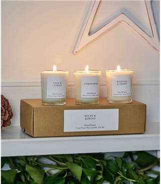 Boxed Votive Candle Set