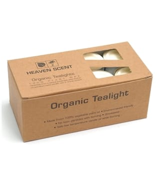Pack Of 24 Natural Tea Lights
