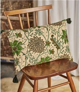 Printed Cotton Rectangular Cushion Cover