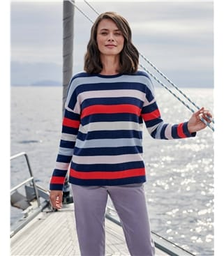Wide Stripe Jumper