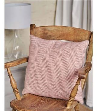 Housse de coussin motif ruche d'abeille - Maison - Pure Laine