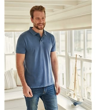 Organic Cotton Pique Polo