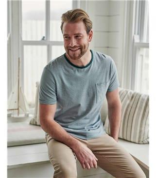 T-Shirt aus Bio-Baumwolle für Herren