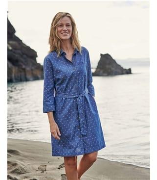 Robe chemise - Femme - Pur Coton