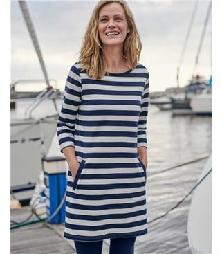 Tunique rayée - Femme - Jersey