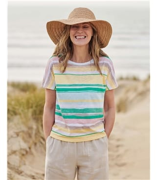 Painted Stripe Tee