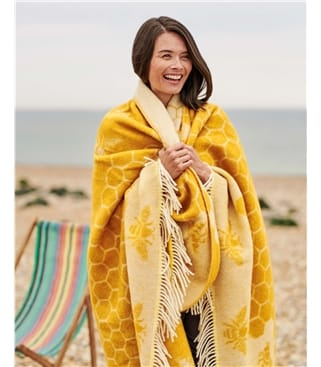 Bumble Bee Large Throw
