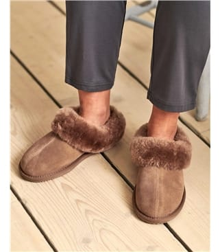 Classic Sheepskin & Suede Slipper