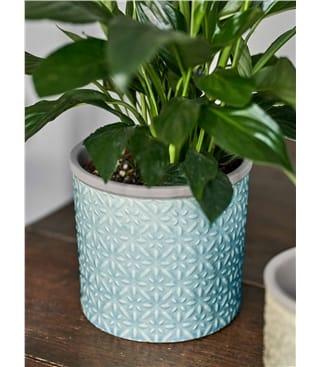 Burgon & Ball Tuscany Glazed Plant Pot Large