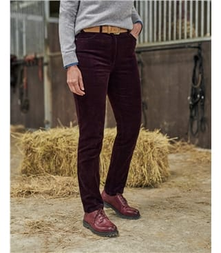 Organic Cotton Cord Jeans