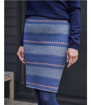 Fairisle Pattern Skirt
