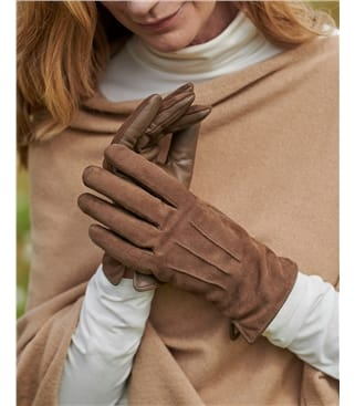 Suede and Leather Classic Glove