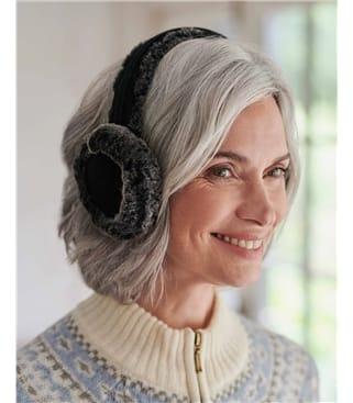 Suede & Sheepskin Ear Muffs