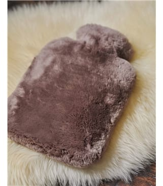 Sheepskin Hot Water Bottle and Cover