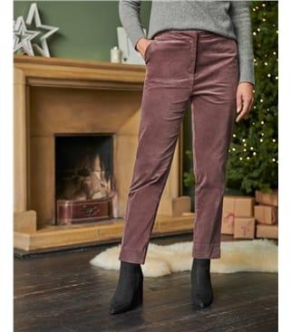 Pantalon en velours - Femme - Coton mélangé
