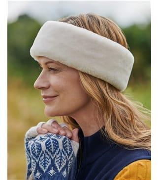 Sheepskin Headband