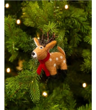 Ruby the Reindeer Christmas Decoration